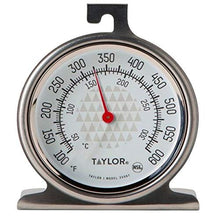 Load image into Gallery viewer, Taylor Precision Products Oven Dial Thermometer, 1, Stainless Steel/Black