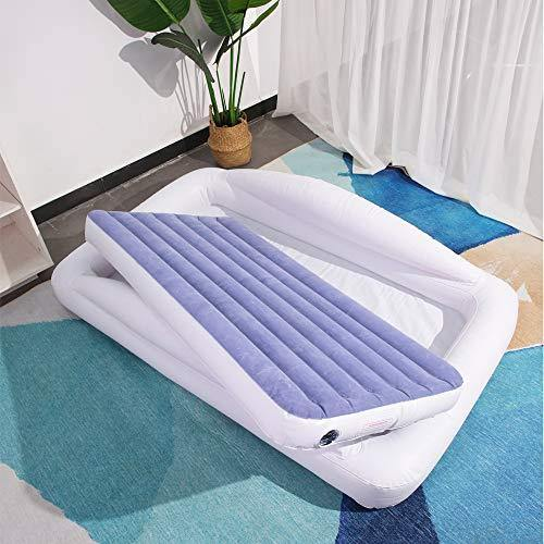 Party Travel Comfortable Toddler Air Bed with Detachable Mattress,Out Frame Perfect Use as Inflatable Swimming Pool for The Children,Baby Bath Tub,Collapsible Easy Carry - PHUNUZ