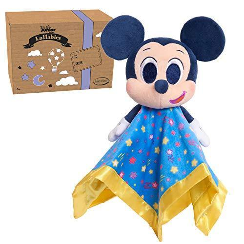 Disney Junior Music Lullabies Lovey Blankie, Mickey Mouse, Amazon Exclusive - PHUNUZ