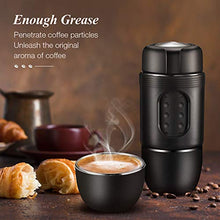 Load image into Gallery viewer, STARESSO Portable Espresso Machine MINI with Carrier Box - Manual Espresso Maker with Rich & Thick Crema, Compatible with Nespresso Pods & Ground Coffee, Suitable for Travel Outdoors Home and Office