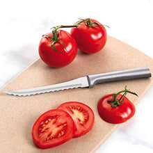 Load image into Gallery viewer, Rada MFG Tomato Slicing Knife Stainless Steel Blade With Aluminum Handle Made in USA, 8-7/8 Inches, 2 Pack
