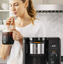 Load image into Gallery viewer, Ninja Hot and Cold Brewed System, Auto-iQ Tea and Coffee Maker with 6 Brew Sizes, 5 Brew Styles, Frother, Coffee & Tea Baskets with Glass Carafe (CP301)