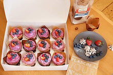 Load image into Gallery viewer, Baker's Signature Tulip Baking Paper Cupcake & Muffin Liners Pack of 150 | Grease Resistant Wrappers – Will Not Curl or Burn – Comes in Convenient Packaging - PHUNUZ