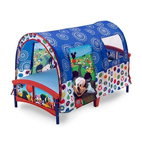 Delta Children Toddler Tent Bed, Disney Mickey Mouse - PHUNUZ