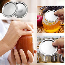 Load image into Gallery viewer, Canning Lids, Regular Mouth Mason Jar Lids, Split-type Lids Leak Proof And Secure Canning Jar Caps, 12-Count (70mm)
