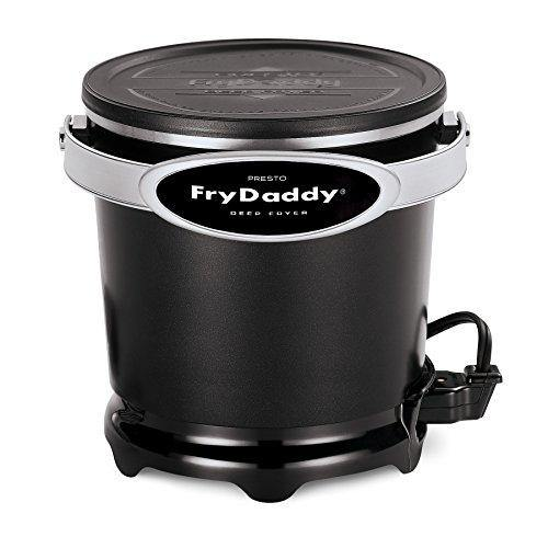Presto 05420 FryDaddy Electric Deep Fryer,Black - PHUNUZ