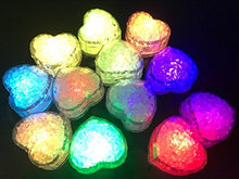 Load image into Gallery viewer, Hongtang Light Up Ice Cubes,12 Pack Flashing LED Ice Cube for Christmas Bathtubs Vases Weddings Ponds Club Bar Champagne Towers Party Holiday Decorations