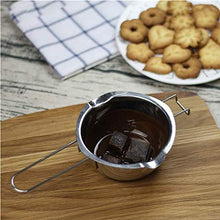 Load image into Gallery viewer, Stainless Steel Double Boiler Pot, Melting Chocolate, Butter, and Candle Making,Chocolate Melting Pot,Double Boiler for Candle Making.