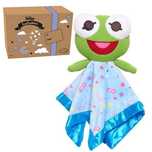 Disney Junior Music Lullabies Lovey Blankies, Kermit, Amazon Exclusive - PHUNUZ