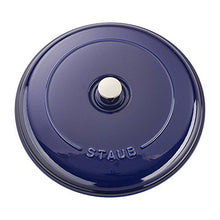 Load image into Gallery viewer, Staub Cast Iron 3.5-qt Braiser - Dark Blue