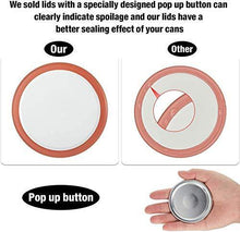 Load image into Gallery viewer, 36-Count, Regular Mouth Canning Lids for Ball, Kerr Jars - Split-Type Metal Mason Jar Lids for Canning - Food Grade Material, 100% Fit & Airtight for Regular Mouth Jars - PHUNUZ