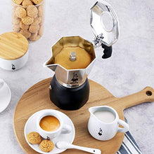 Load image into Gallery viewer, Bialetti New Brikka, Moka Pot, the only coffee maker capable of producing the cream of the espresso 4 Cups, Aluminum