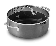 Load image into Gallery viewer, Calphalon Classic Nonstick Dutch Oven with Cover, 5 quart, Grey