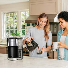 Load image into Gallery viewer, Ninja CE251 Programmable Brewer, with 12-cup Glass Carafe, Black and Stainless Steel Finish