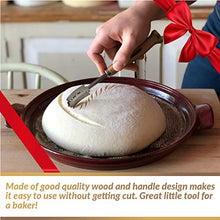 Load image into Gallery viewer, Bread Bakers Lame Slashing Tool - Dough Making Slasher Tools Baking Sourdough Bread Starter Jar Scoring Knife Razor Cutter Slashing Tool Accessories for Cutting Bread Bosses Supplies - Great As A Gift
