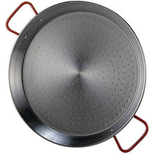 Load image into Gallery viewer, Garcima 16-Inch Carbon Steel Paella Pan, 40cm