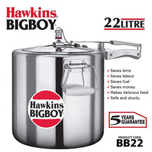 Load image into Gallery viewer, Hawkings Bigboy Aluminium Pressure Cooker