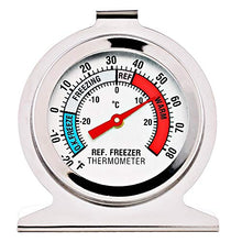 Load image into Gallery viewer, 2 Pack Refrigerator Freezer Thermometer Large Dial Thermometer