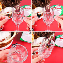 Load image into Gallery viewer, Aneco 12 Pieces Christmas Magnetic Wine Glass Charms Cocktail Markers Christmas Wine Glass Drink Markers Glass Goblet Drink Markers for Christmas Party