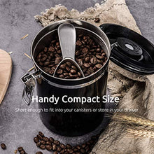Load image into Gallery viewer, Coffee Scoop: U-Taste Durable 18/8 Stainless Steel Measuring Coffee Scoop 2 tablespoon