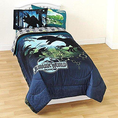 Jurassic World Twin Comforter Micofiber Boys Dinosaur Bedding - PHUNUZ
