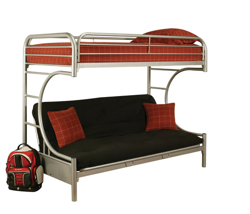 Eclipse Silver Bunk Bed (Twin XL/Queen/Futon) image