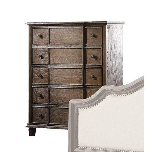 Baudouin Weathered Oak Chest image