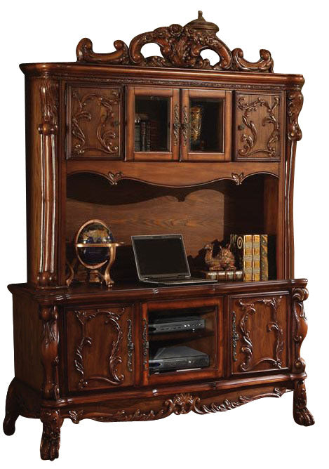 Acme Dresden Bookcase in Cherry Oak 12172 image