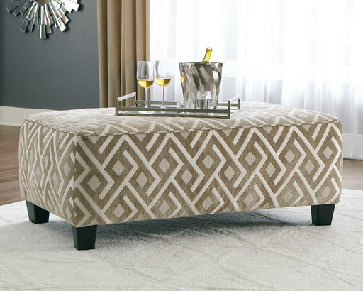 Dovemont Signature Design by Ashley Oversized Accent Ottoman image