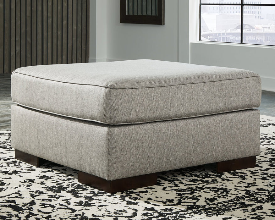 Marsing Nuvella Benchcraft Oversized Accent Ottoman image