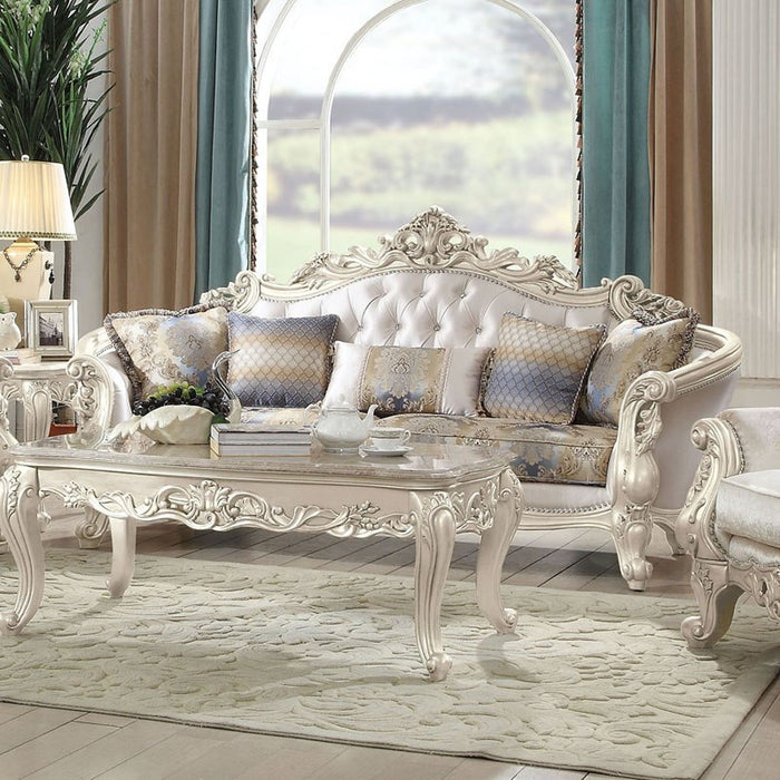 Acme Furniture Gorsedd Sofa in Antique White 52440 image