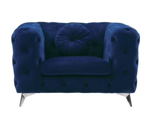 Atronia Blue Fabric Chair image