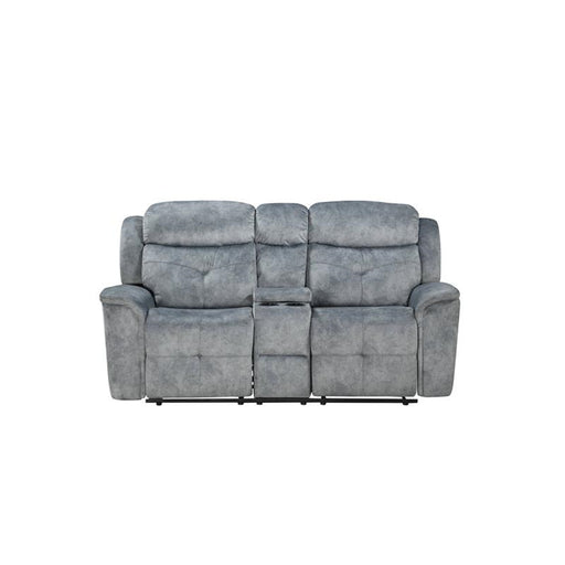 Acme Furniture Mariana Motion Loveseat in Silver Gray 55031 image