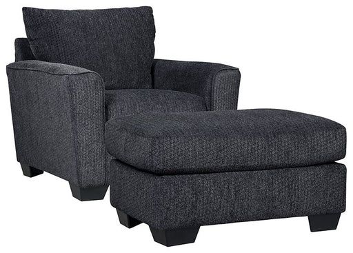 Wixon Benchcraft 2-Piece Chair & Ottoman Set image