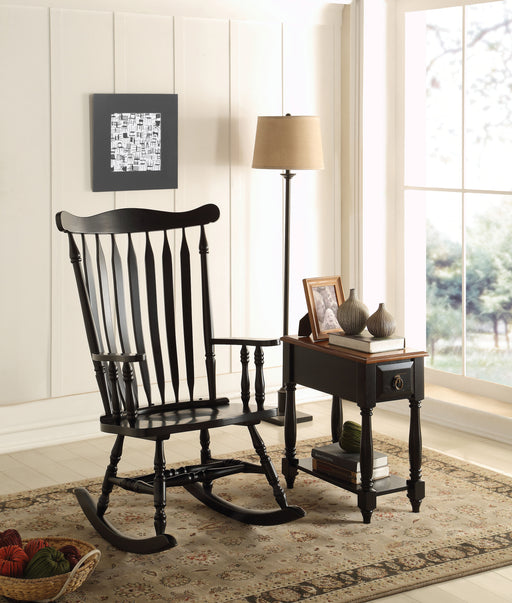 Kloris Black Rocking Chair image