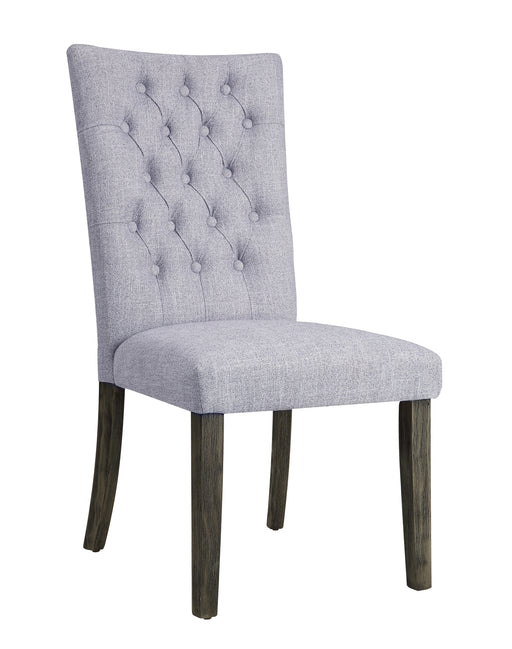 Merel Gray Linen & Gray Oak Side Chair image
