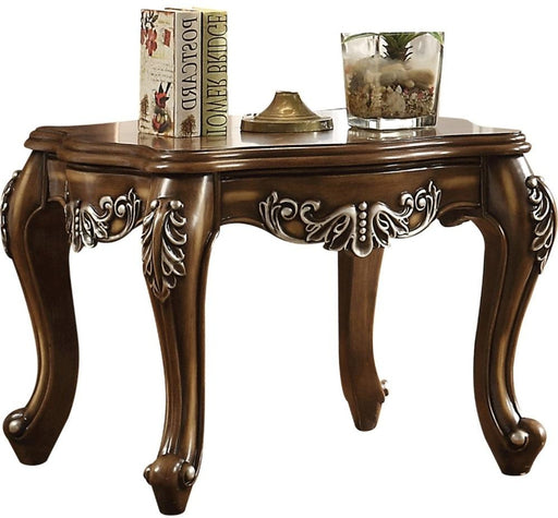 Acme Furniture Latisha End Table in Antique Oak 82117 image
