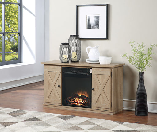 Black Fireplace image