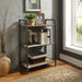 Itzel Antique Oak & Sandy Gray Bookshelf image