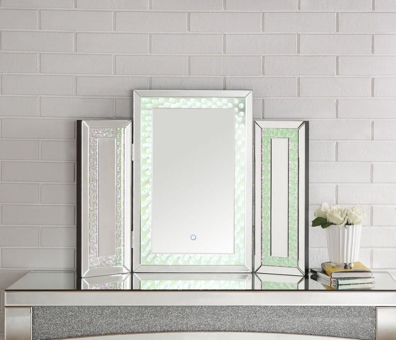Nysa Mirrored & Faux Crystals Accent Decor (LED) image