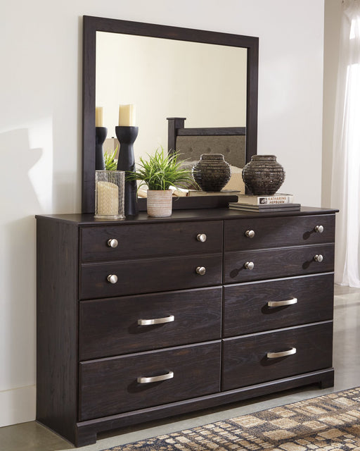 Reylow Signature Design by Ashley Dresser and Mirror image