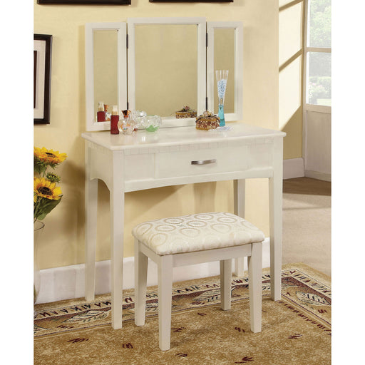 Potterville White Vanity Table image
