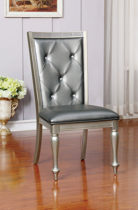SARINA Silver Side Chair (2/CTN) image