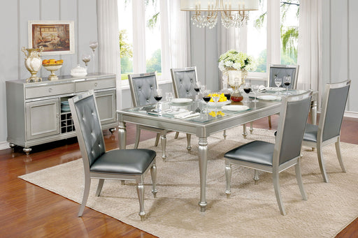 SARINA Silver Dining Table image