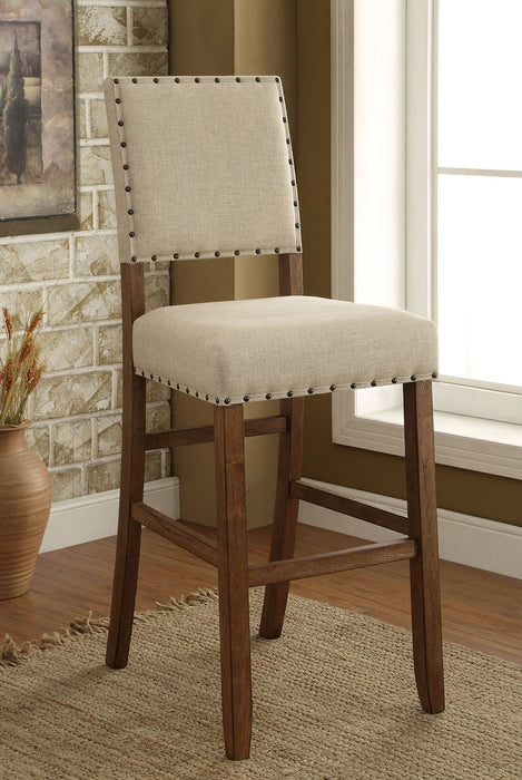 SANIA Rustic Oak Bar Chair (2/CTN) image