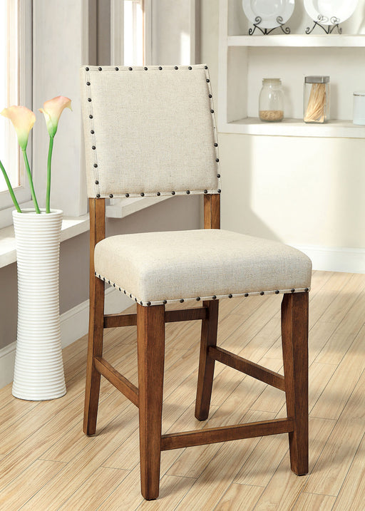 SANIA Rustic Oak Counter Ht. Chair (2/CTN) image