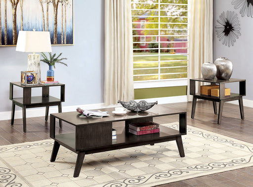 Vilgot Warm Gray 3 Pc. Coffee Table Set image