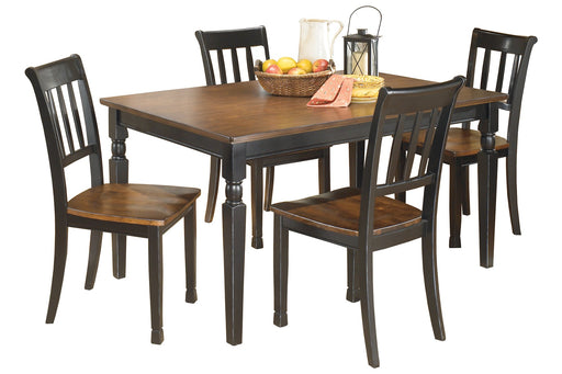 Owingsville Signature Design 5-Piece Dining Room Set image