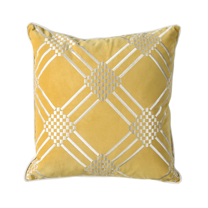 "Sam Silver/Gold 20"" X 20"" Pillow, Silver & Gold (2/CTN) image"