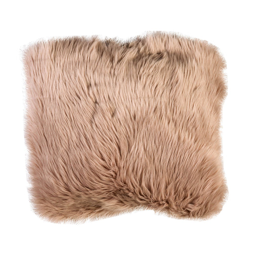 "Wendy Blush 20"" X 20"" Pillow, Fur Blush (2/CTN) image"